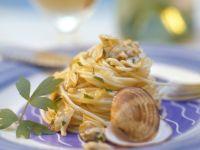 Spaghetti mit Venusmuscheln Rezept