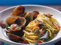 Spaghetti mit Vongole Rezept