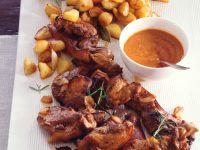 Spanferkel mit Mojo Picon und Röstkartoffeln Rezept