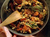 Spanische Reispfanne Rezept