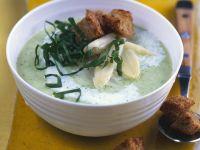 Spargel-Bärlauch-Suppe Rezept
