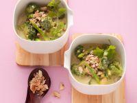 Spargel-Kokoscurry mit Brokkoli Rezept