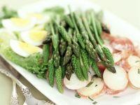 Spargel mit Kartoffelsalat Rezept