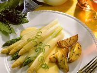 Spargel mit Sauce Hollandaise Rezept