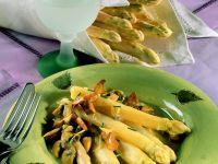 Spargel-Pilz-Gemüse Rezept