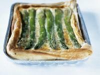 Spargel-Quiche mit Käse Rezept