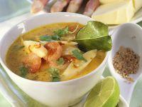 Spargel und Garnelen in Currysauce Rezept