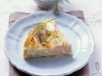 Spargelquiche mit Lachs Rezept