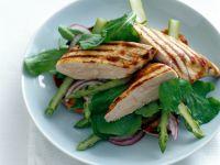 Spargelsalat mit Hähnchenbrust Rezept