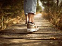 Wie Sie mit spazieren gehen abnehmen können