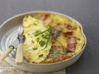 Speck-Omelett Rezept