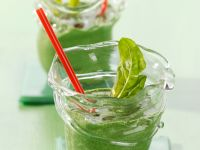 Spinat-Curry-Smoothie Rezept