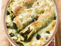Spinat-Feta-Cannelloni Rezept
