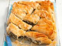 Spinat-Filoteig-Kuchen Rezept