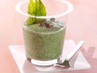 Spinat-Knoblauch-Smoothie Rezept