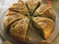 Spinat-Pastete mit Ricotta und Ei Rezept