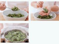 Spinatklößchen Rezept