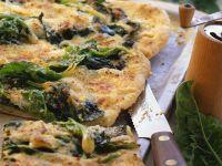 Spinatpizza Rezept