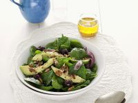 Spinatsalat mit Avocado Rezept