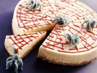 Spinnennetzkuchen zu Halloween Rezept