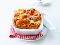 Spirallasagne mit Tomaten Rezept