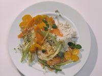 Spitzkohl aus dem Wok mit Knoblauch und Minze Rezept