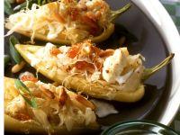 Spitzpaprika mit Sauerkraut gefüllt Rezept