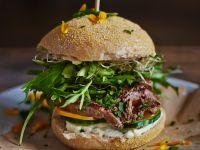 Steak-Burger Rezept