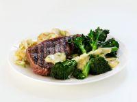 Steak mit Brokkoli Rezept