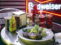 Steak mit Eissalat Rezept