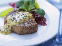 Steak mit grüner Pfeffersauce Rezept