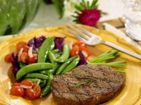 Steaks mit Gemüse Rezept