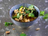 Steckrüben-Grünkohl-Curry mit Hähnchen Rezept