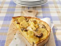 Steinpilz-Kartoffel-Quiche Rezept