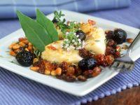 Stockfisch nach sizilianischer Art Rezept