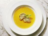 Strudelscheiben-Suppe Rezept