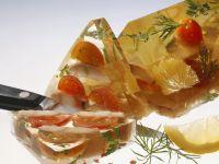 Sülze mit geräuchertem Aal Rezept