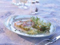 Sülze von Bodenseefischen und Krebsen Rezept