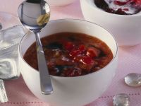 Süß-pikanter Dip mit Zwiebeln und Honig Rezept