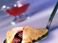 Süße Brombeer-Quark-Ravioli Rezept