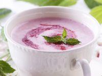 Süße Erdbeersuppe Rezept