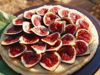 Süße Feigen-Pizza Rezept