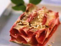 Süße Lasagne mit Zwetschgen Rezept