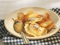 Süße Ravioli mit Apfel Rezept