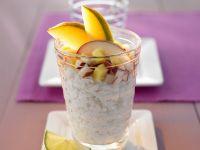 Süßer Klebreis mit Obst Rezept