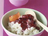 Süßer Reisbrei mit Cranberries Rezept