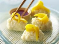 Süßes Mango-Sushi Rezept