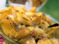 Süßkartoffel-Bananengratin Rezept