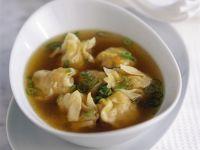 Suppe mit Wan-Tan Rezept