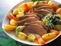 Suppenfleisch mit Gemüse Rezept